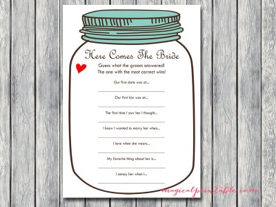 here-comes-the-bride-mason-jars-bridal-shower-hens-game