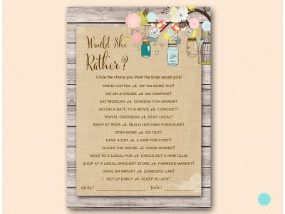 BS498-would-she-rather-Burlap-mason-jars-bridal-shower