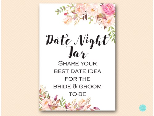 This is a picture of Accomplished Date Night Jar Printable