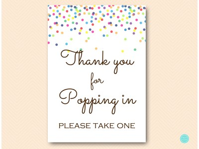 TLC108-sign-thanks-popping-sprinkle-rainbow-baby-shower-decor