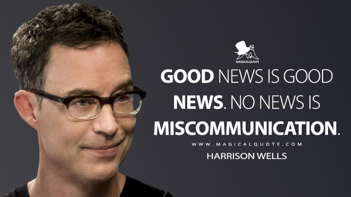 Insperational Quote Wallpaper Good News Is Good News No News Is Miscommunication