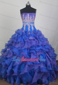 Sweet 15 Dresses Purple And Blue | Great Ideas For Fashion ...