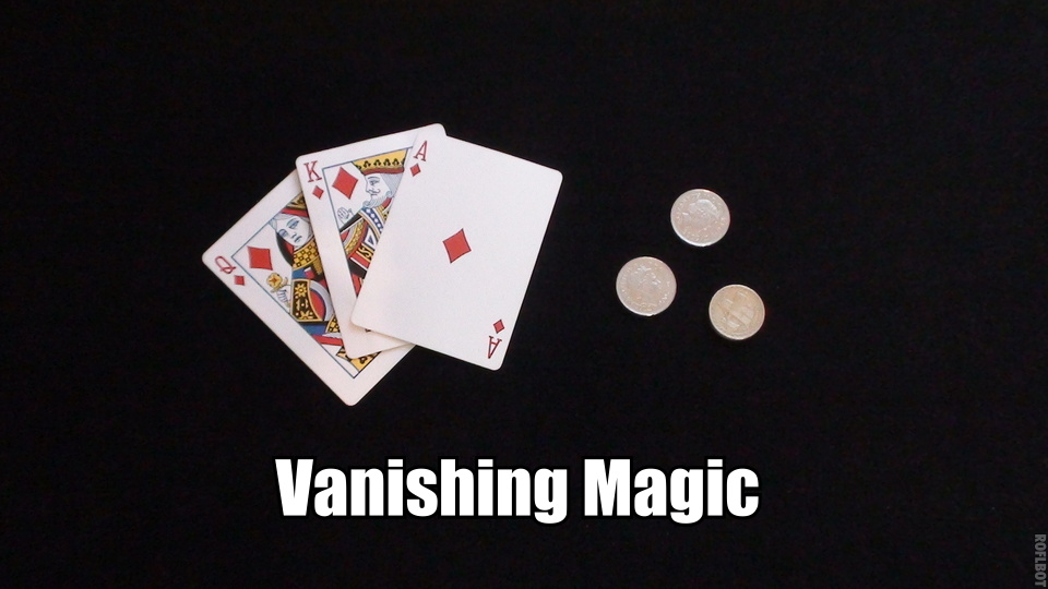 How To Make A Card Vanish Card Trick Magic Shops
