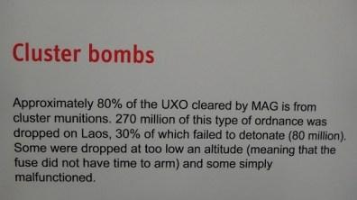 Phonsavan - MAG - Cluster Bombs