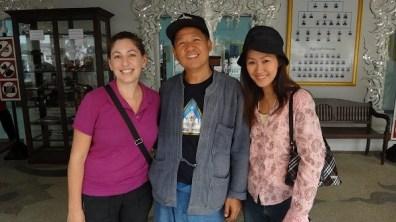 Chiang Rai - Tanya, Jane and Chalermchai Kositpipat