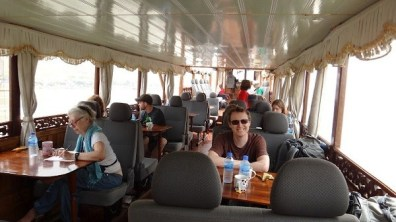 Nagi of Mekong Slow Boat Cruise - Andrew Very Comfortable