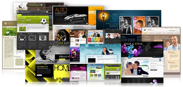 Templates  designs \u003e MAGIX Website Maker \u003e Website Maker \u003e Create - how to create a website template