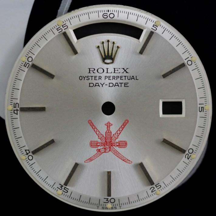 Rolex 1803 Silver Oman Crest dial