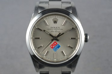 Rolex AK Dominos Pizza Logo incliné