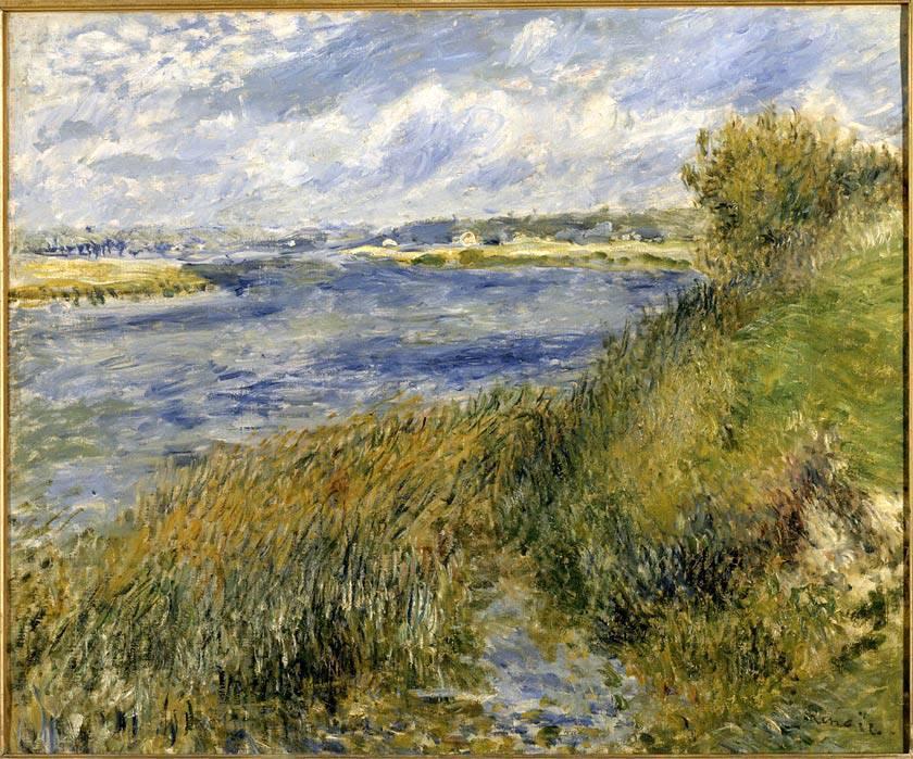 Pierre Auguste Renoir - La Seine а Champrosay 1876