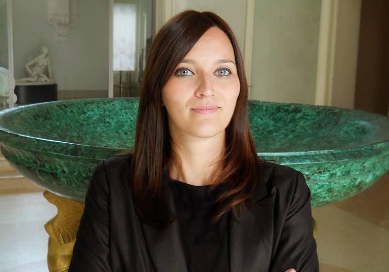 Elisa Barili, guida specializzata della Fondazione Magnani Rocca