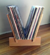 LP Record RackSo Simple, So Sweet - Magnetic Magazine