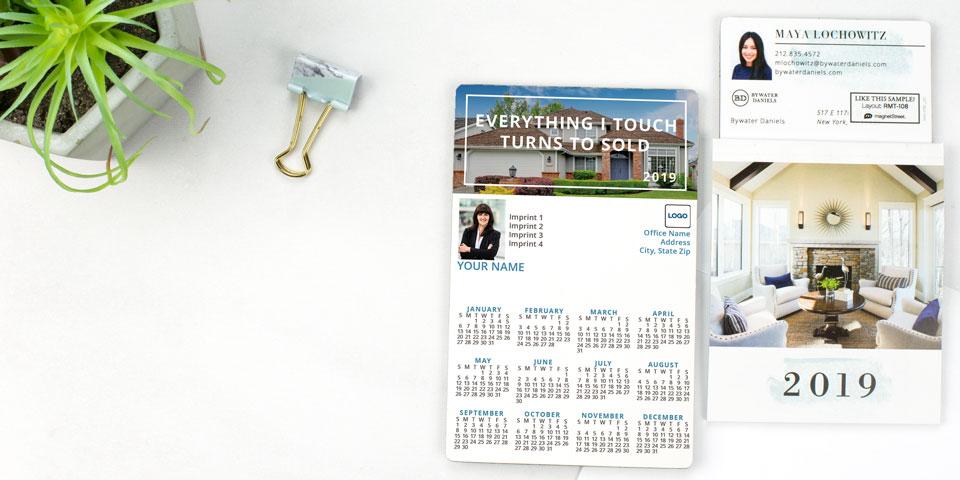 2019 Magnetic Calendars Calendar Magnets