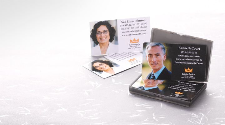 Paper  Magnetic Business Cards Personalize Your Design Online!