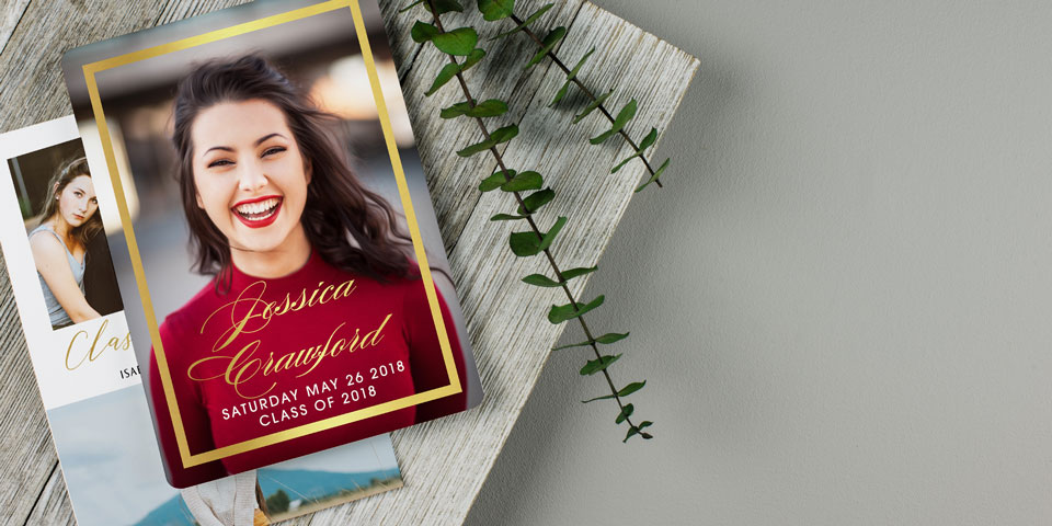 Personalized Graduation Announcements Graduation Cards  Magnets