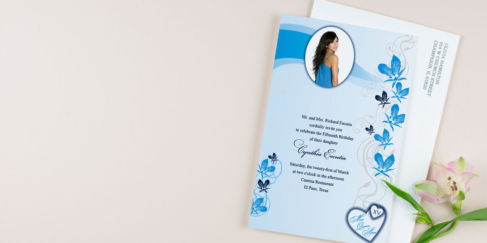 Unique Quinceañera Invitations Personalized Quinceanera Invites