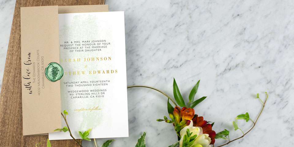 Wedding Invitations Match Your Style Free Custom Samples