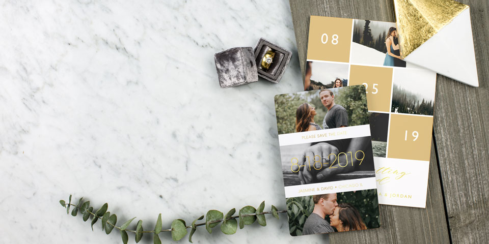 Save the Date Magnets  Cards Free Custom Samples Match Your Style