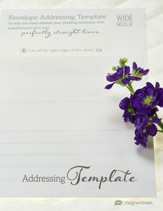 Addressing Wedding Invitations MagnetStreet Weddings - wedding template