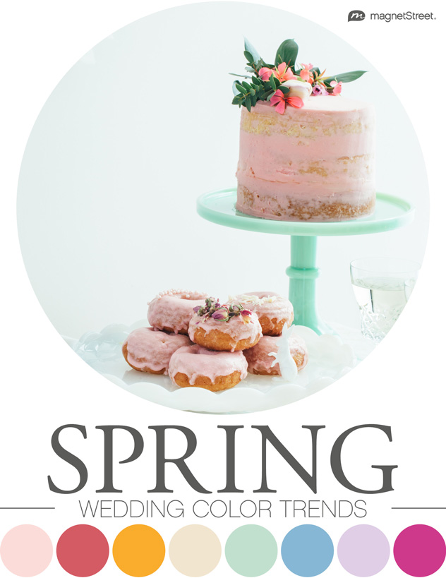 Top 2019 Wedding Color Trends Spring, Summer, Fall, Winter