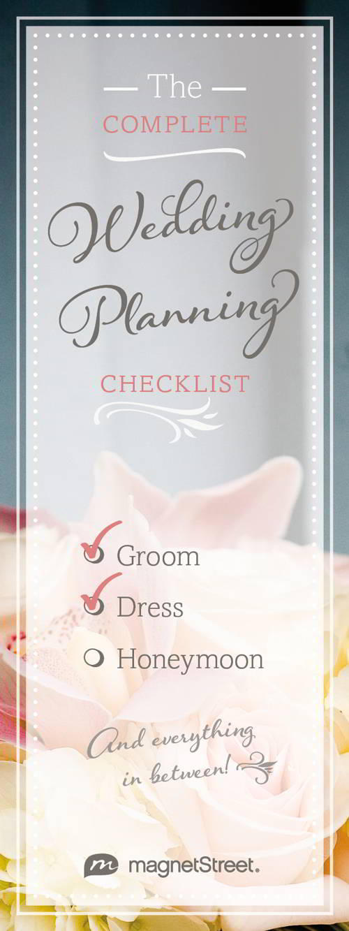 Wedding Planning Checklist - Free Wedding Checklist MagnetStreet - wedding checklist pdf