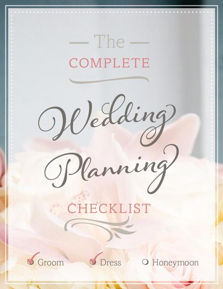Free Wedding Planning Checklist (PDF Print or Download)Truly - wedding plan