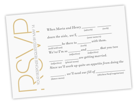 Wedding RSVP Wording MagnetStreet Weddings