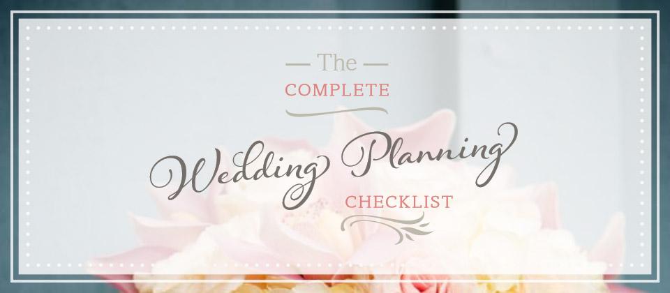 Free Wedding Planning Checklist (PDF Print or Download)