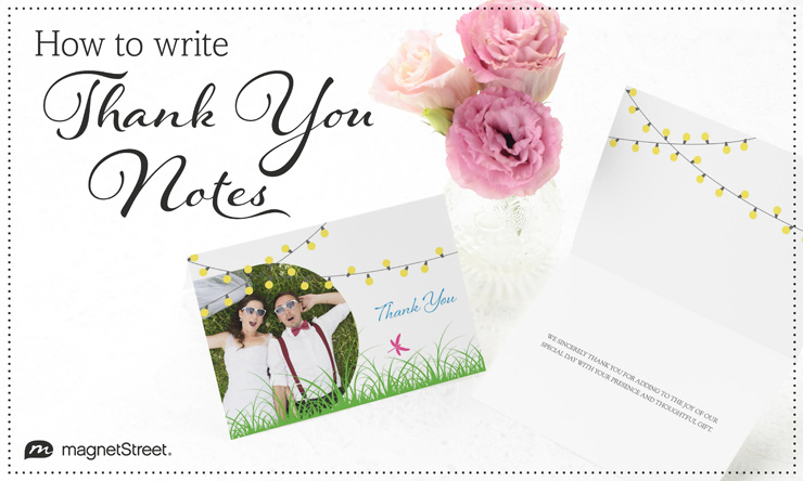 Anatomy Of How To Write A Thank You Note
