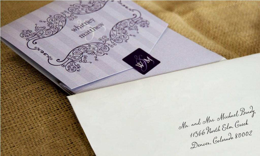 Addressing Wedding EnvelopesAddressing Wedding Envelopes