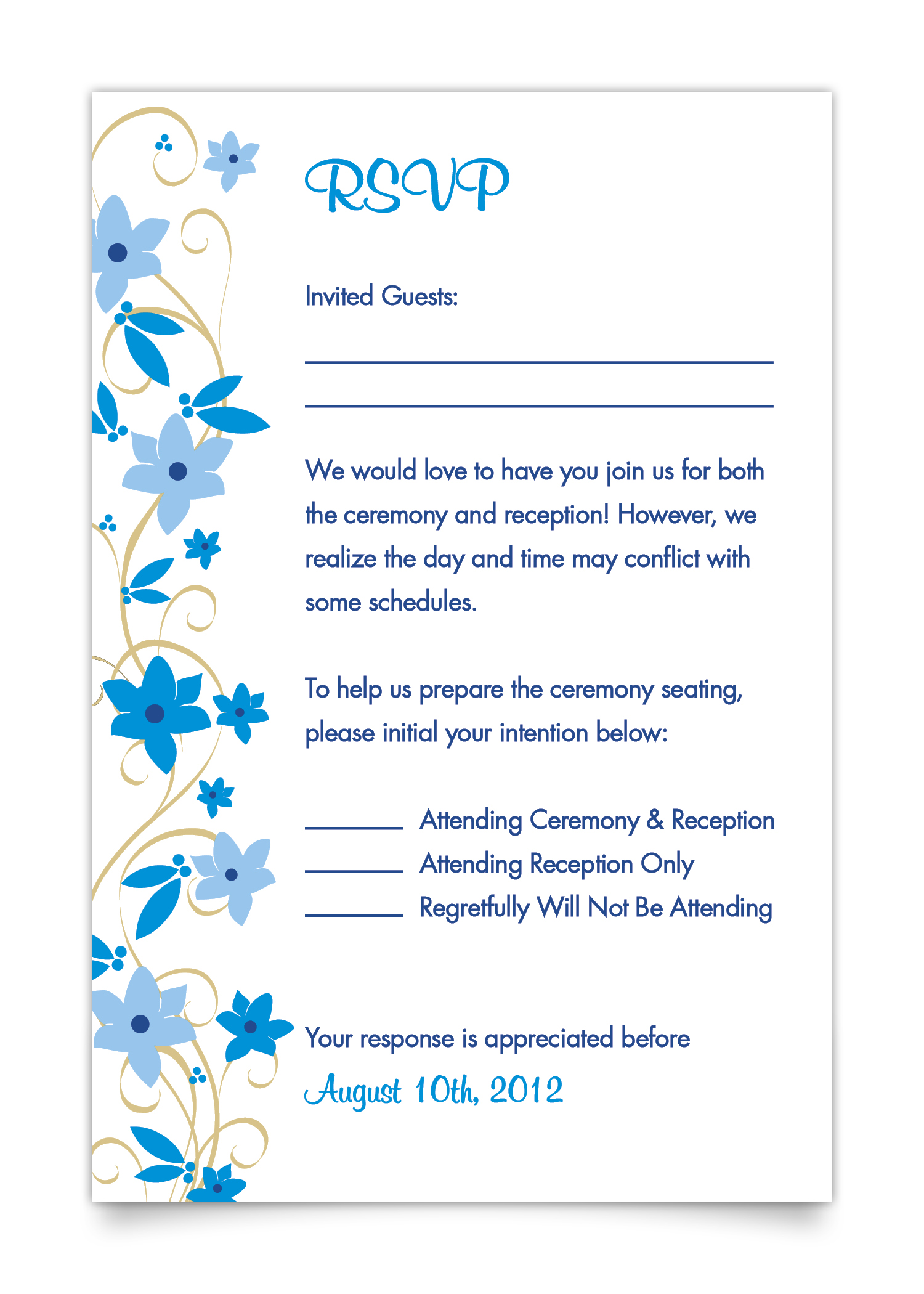 Fullsize Of Wedding Rsvp Card Wording