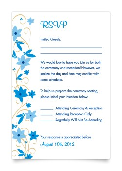 Small Of Wedding Rsvp Card Wording