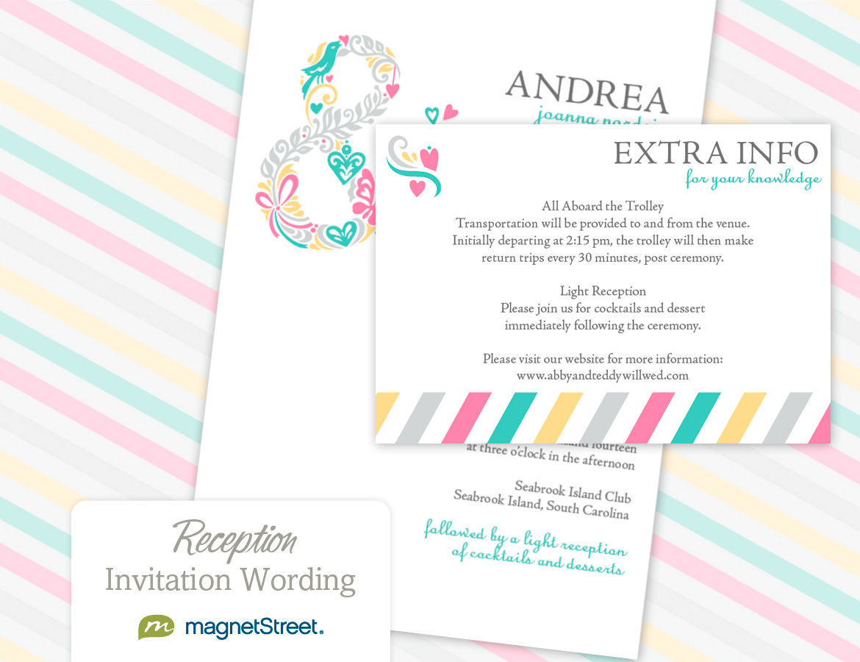 reception invitation wording reception only wedding invitations reception invitation wording