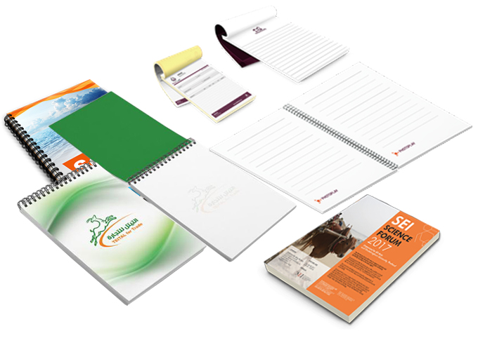 Memo / Note pads printing in Bali, for meeting, trade show, or - meeting note pad