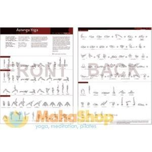 Ashtanga Primary Series Practice Sheet