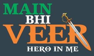 Main Bhi Veer logo block