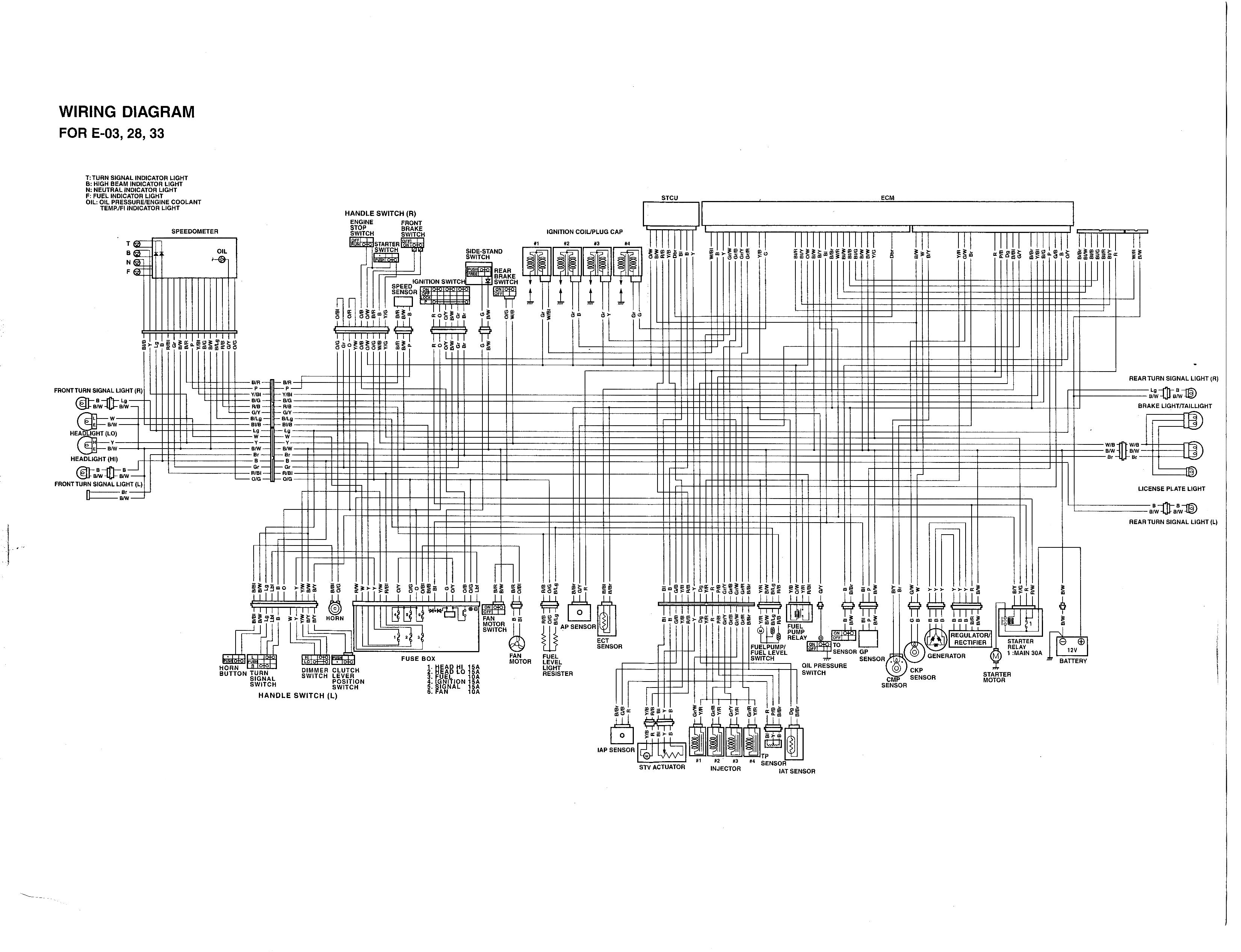 2007 suzuki gsxr 750 wiring diagram