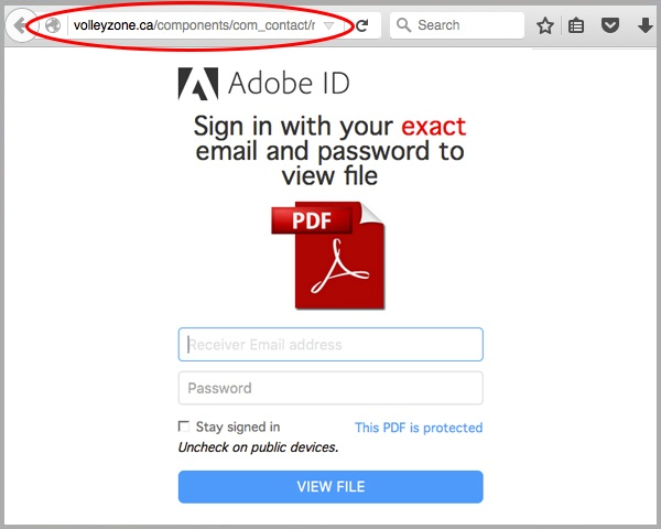 Fraudulent \u0027Invoice\u0027 Email Carries an Adobe ID Phishing PDF Attachment