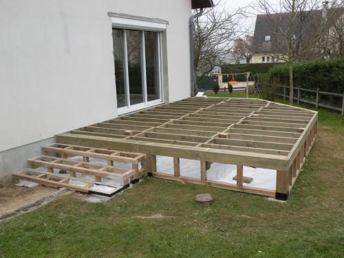 Terrasse bois prix sur pilotis - Maillerayefr jardin - Terrasse Bois Pilotis Prix