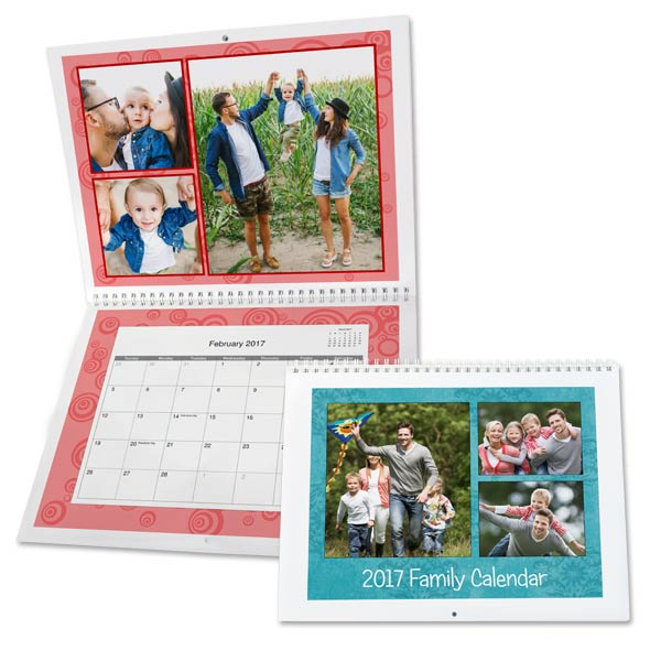 Wall Calendars Personalized Photo Calendars Desktop Calendars Wall Calendars Custom Photo Calendars Personalized Calendars 2017 Mailpix
