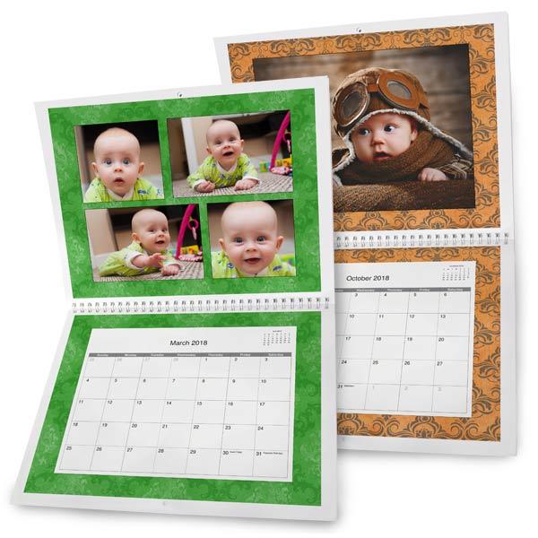 Custom Photo Calendars Personalized Calendars 2017 MailPix