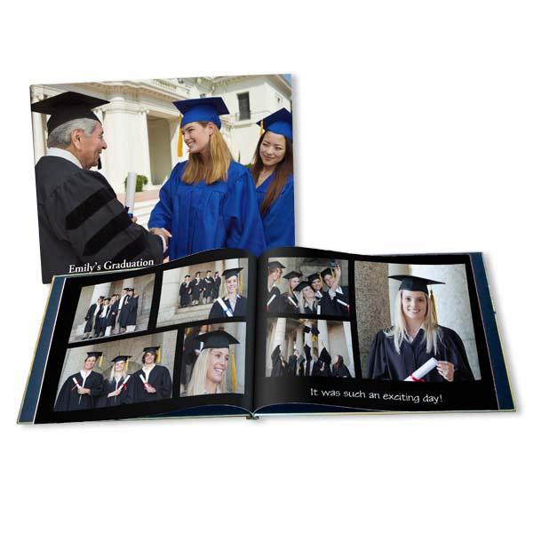 Graduation Photo Album Custom Grad Photo Book MailPix