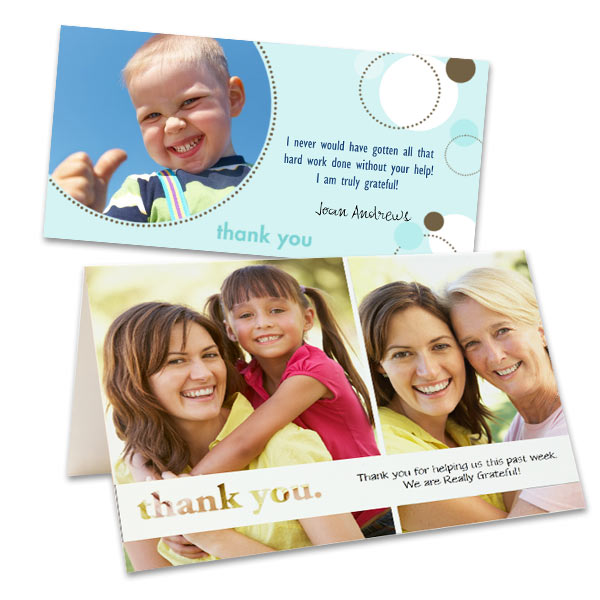 Design Your Own Thank You Cards Photo Thank You Cards MailPix
