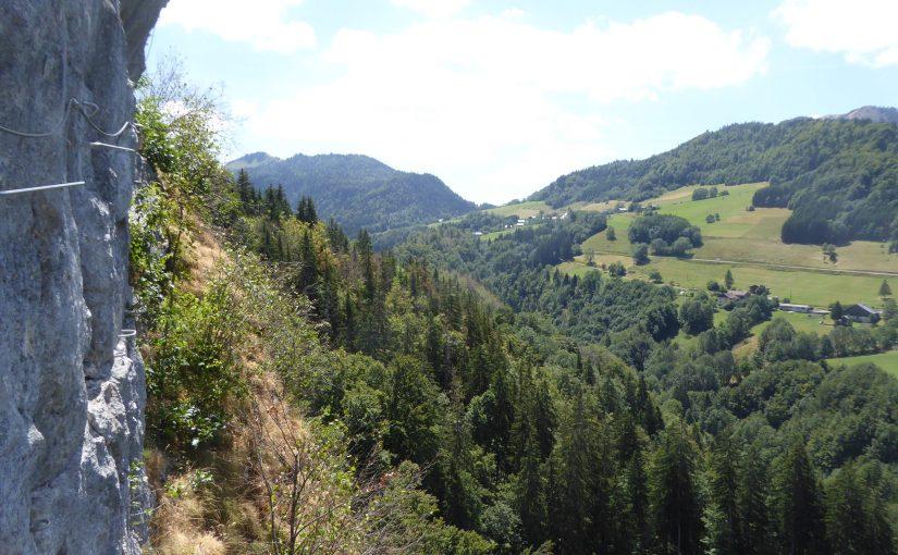 The Bellevaux Via Ferratas