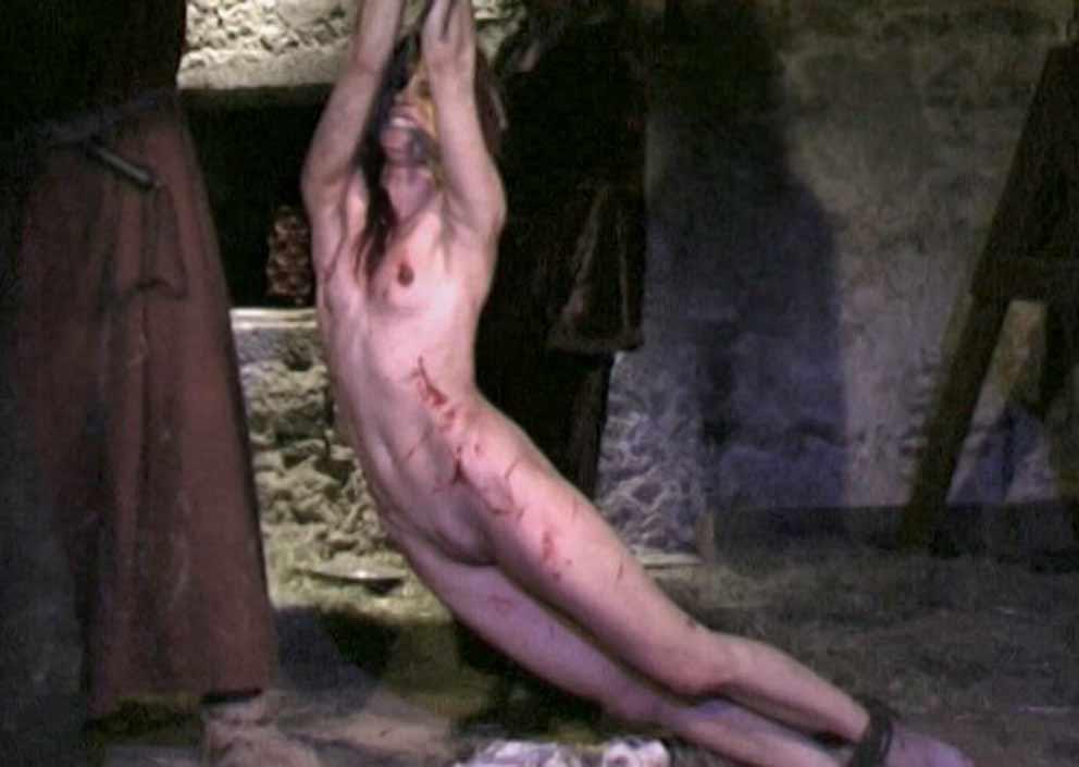 Tutte troie bdsm crucifixion slave threesome John