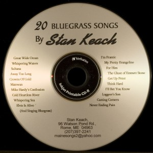 CD-0329, Stan Keach, 20 Bluegrass Songs
