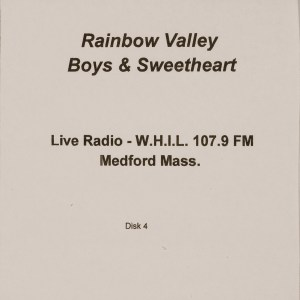 CD-0339, Rainbow Valley Boys _ Sweetheart, Live Radio, Disk 4