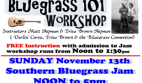 NYA southern jam bluegrass 101 workshop nov 2016