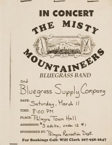 POST-0031, In Concert The Misty Mountaineers