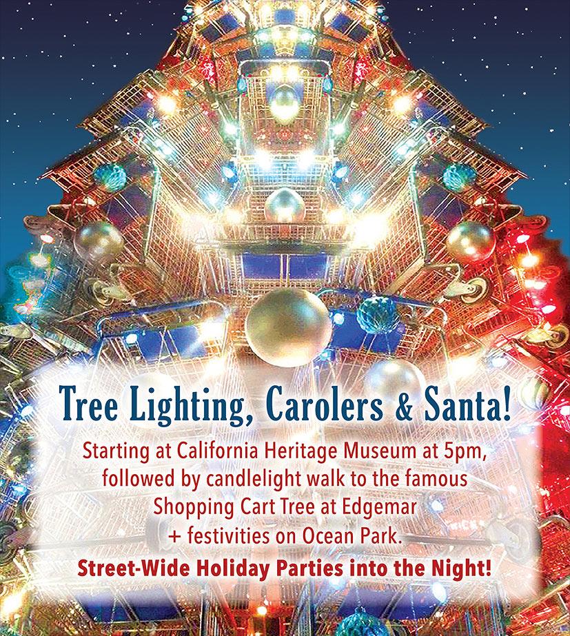 Holiday Event - Main Street, Santa Monica